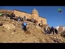 Древние постройки в горах Чечни Никарой Г1ала