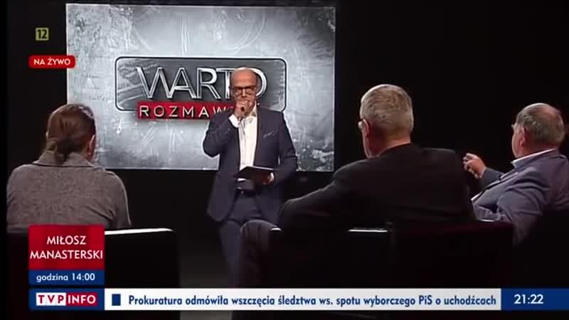 Jan Pospieszalski Warto rozmawiać 10 12 2018