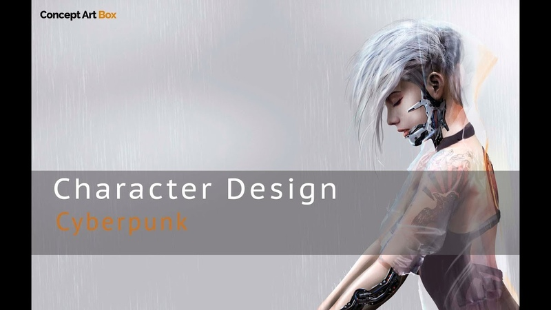 Character Concept Art - Photo-bashing Techniques Cyberpunk Style