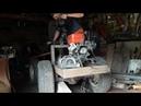 Рулевая и сцепление минитрактора переломка.