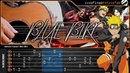BLUE BIRD - Naruto Shippuden Opening 3 Cover - Fingerstyle Guitar Cover With TAB TUTORIAL | CHORD
