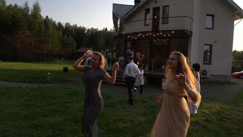 Танцевальная пауза на свадьбе (Август 2018)