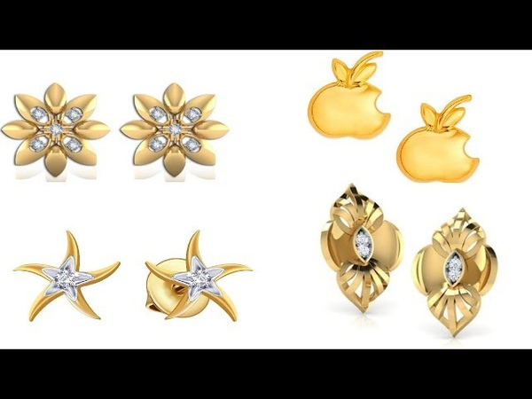 Awesome Gold Earring Design/Latest Gold Tops Design/Latest Earring Design/Latest Gold Design