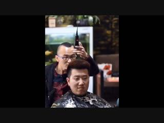 Когда попросил подстричь чуть покороче