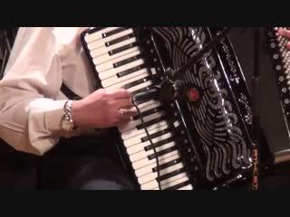 صالون الموسيقى العربية - اما براوة - صولو اوكورديون الفنان فاروق محمد حسن - صالو