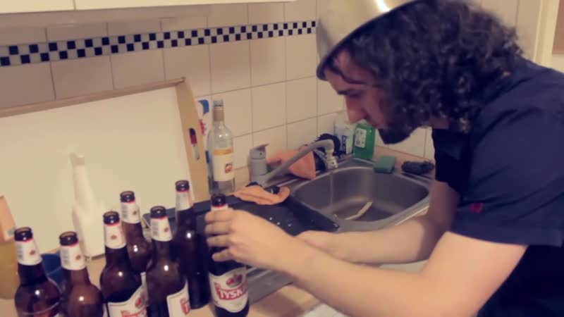 Alestorm - The making of Sunset On The Golden Age (Play on bottles)