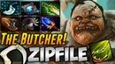 Zip File Pudge [THE BUTCHER] Highlights Dota 2