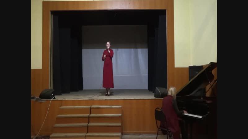 Савина Анна Игоревна - Танго Прощай (И.Богушевская)