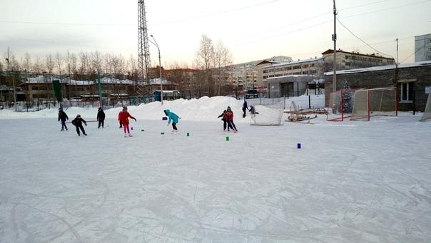 Ледовые забавы