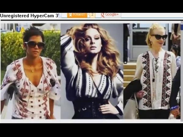 Украинская национальная вышиванка Лидирующие позиции в современной мировой моде