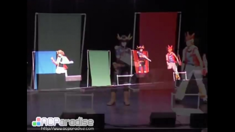 Fanime 2012 Yugioh cosplay skit - Its Your Move