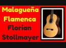 Malaguena Version 2 BLACK AND WHITE by Florian Stollmayer Classical Guitar