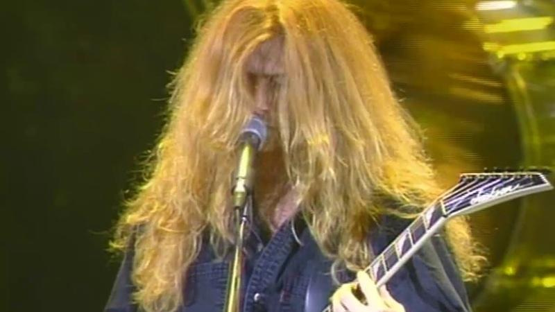 Megadeth - 1992 Sept. 30, Hammersmith Odeon, London, England. 43 Screen Reissue Bonus Audio - HQ