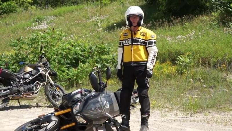 Как поднимать тяжелый мотоцикл