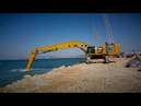 Cat® Hydraulic Shovels Custom Solutions for Dredging Industries