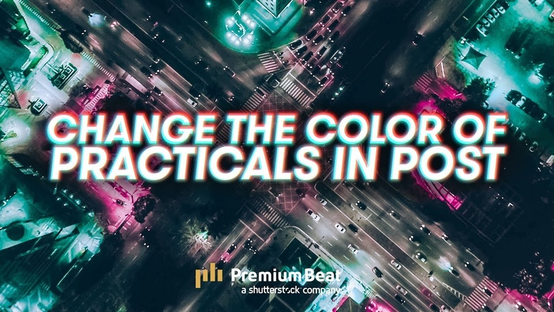 How To Change The Color Of Practicals In Post
