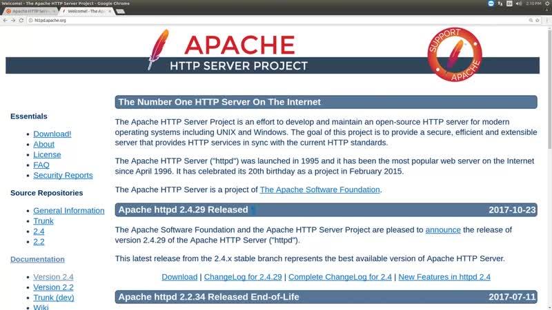 04 - Web-технологии. Apache HTTP-сервер