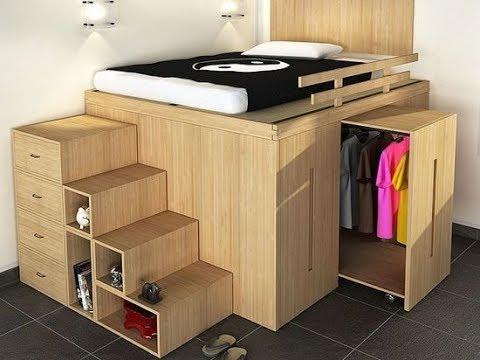 Muebles Inteligentes Para El Ahorro Del Espacio - Ideas Geniales ▶4