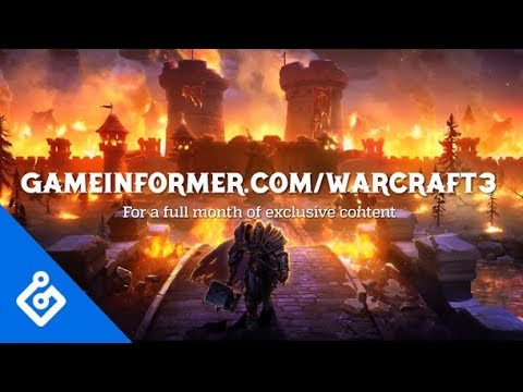 Warcraft III Reforged Exclusive Coverage Trailer