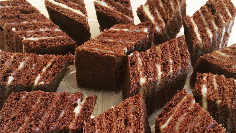 Торт Нутелла медово- шоколадный с заварным кремом / Nutella Շատ համեղ (Նուտելլա)
