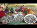 380 Big Loose Prawns Shrimp Vegetables Mixed Gravy Curry Cooking To Feed Whole Village People