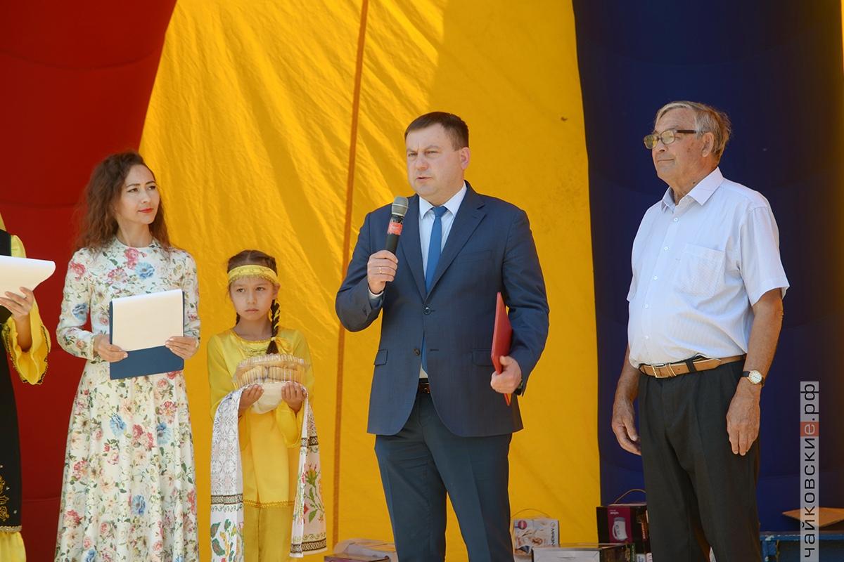 сабантуй, чайковский район, 2019 год