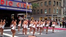 Christmas in August. The Rockettes performing on Sixth Avenue, NYC this morning.