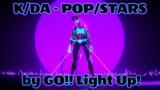 KDA - POPSTARS - (ROCKMETAL COVER)