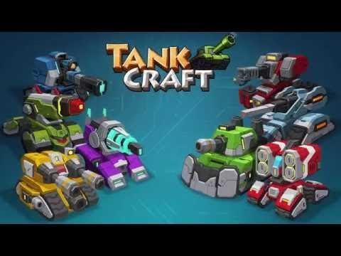 TankCraft 2 Online War android game first look gameplay español