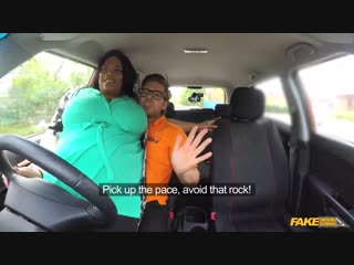 Fake Driving School Busty Cookie Big Busty Black Beauty Banged New Porn 2017