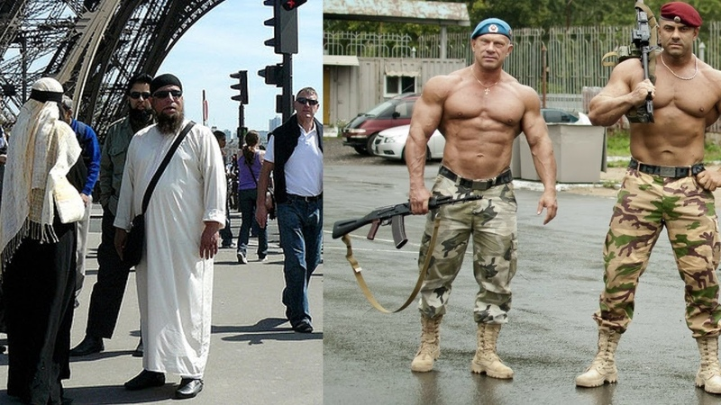 Русские мужики поговорили о жизни с арабами во Франции