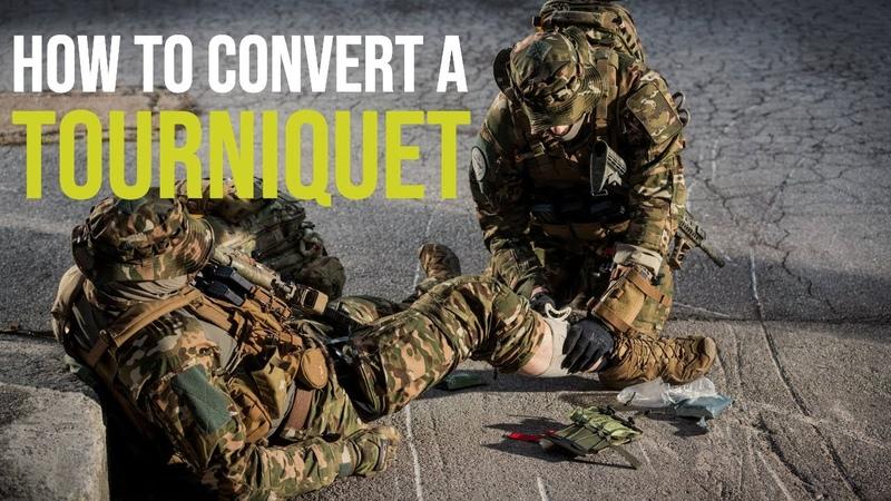 Combat Medic Essentials │ Part 3: Tourniquet Conversion