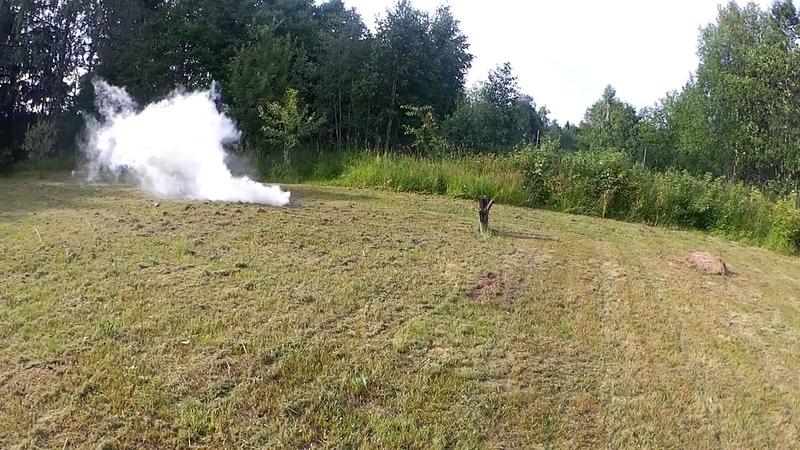 Подымим-2. RAG УДШ (Учебная дымовая шашка)