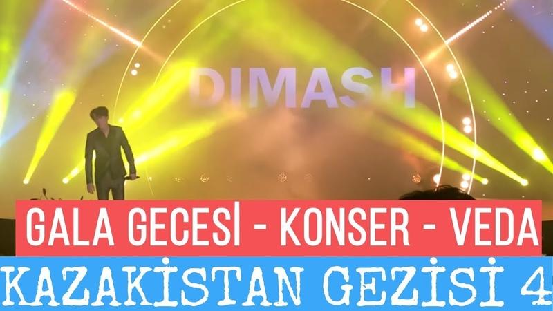 Kazakistan Gezisi 4 - Gala Gecesi Konser ve Veda