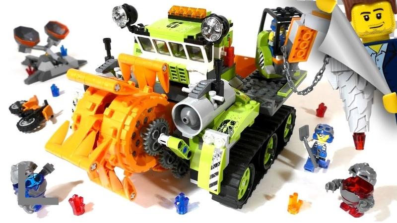 Обзор набора Lego Power Miners 8961 Уборщик Кристаллов (Crystal Sweeper)