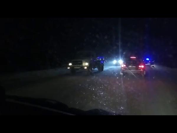 Nissan Tiida врезался в маршрутный автобус в Березняках