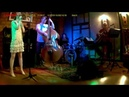 ANNA GREEBOVAJALEEL FARBER TRIO on Jazz club KRUPA part1
