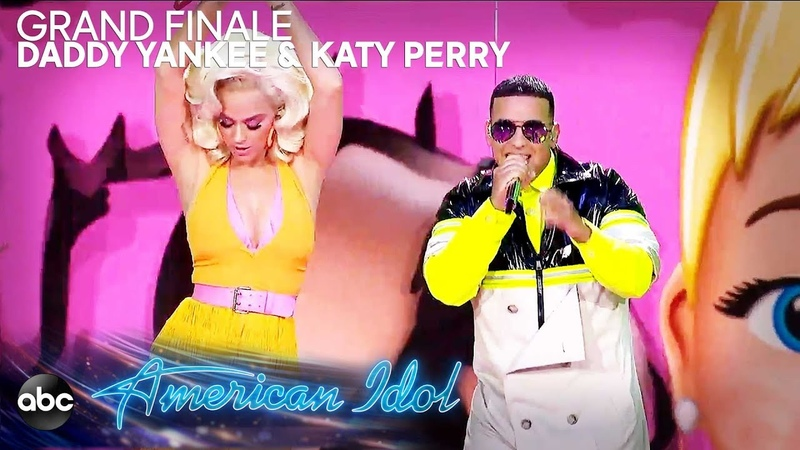 Daddy Yankee Katy Perry Perform Con Calma (Remix) - American Idol 2019 Finale