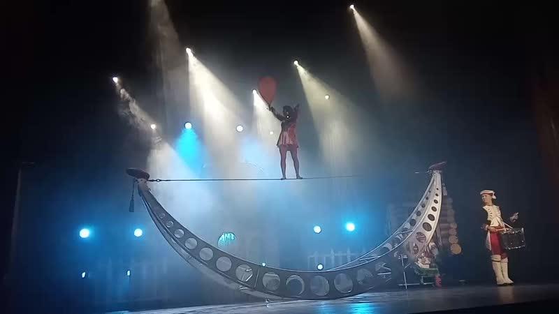Театр ,, Айвенго - Новые приключения Бабы Яги - Воздушная Гимнастка