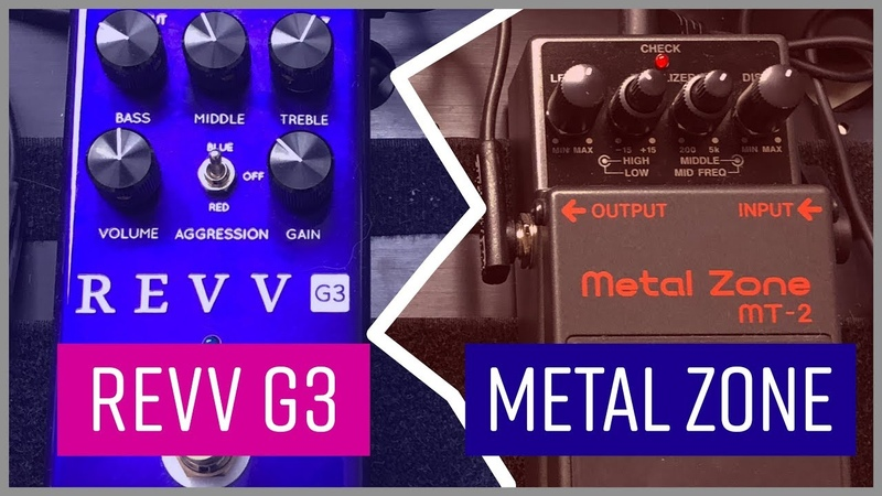 Boss Metal Zone vs Revv G3 | Busting The Myth