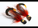 Fly Tying instruction on how to tie the pop pike finder 2.0