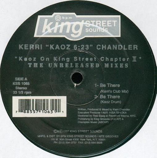 Kerri Chandler альбом Kaoz on King Street, Chapter 2