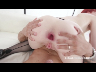 Dap destination__ alex harper finally gets her first dap with balls deep anal, gapes and swallow gio792