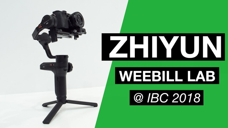 Zhiyun Weebill LAB - Little brother to Crane 3 LAB - First Look @ IBC 2018