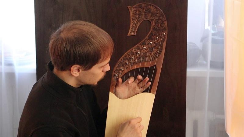 Gusli by Artёm Kolesnikov ( harp , psaltery , lyre )