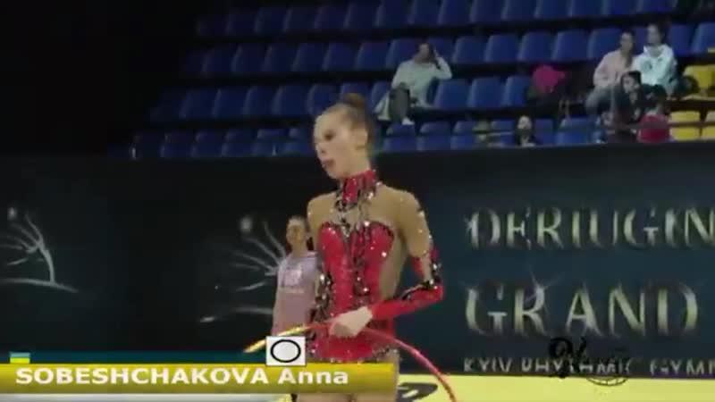 Анастасия Салос - мяч (многоборье) - Deriugina Cup 2019