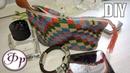 Косметичка из бисера Барджелло. Вязание с бисером. Мастер класс.