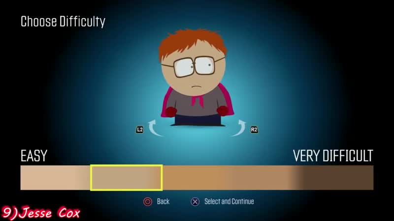 [Gamers React Comp] Gamers Reactions to Choosing Difficulty | South Park™ The Fractured But Whole