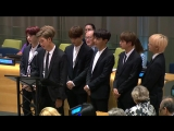 BTS Speech at United Nation General Assembly