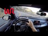 2017 Audi S8 - WR TV POV Canyon Drive
